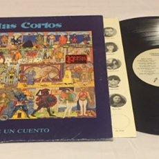 Discos de vinilo: CELTAS CORTOS - CUÉNTAME UN CUENTO LP, 1991, ESPAÑA. Lote 152596312
