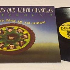 Discos de vinilo: NO ME PISES QUE LLEVO CHANCLAS - BUENOS DÍAS TE LO JURO!! LP, 1990, ESPAÑA. Lote 152596341