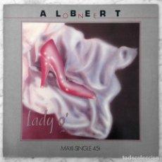 Discos de vinilo: MAXI-SINGLE - ALBERT ONE - LADY O' - BABY RECORDS - ARIOLA - 1985 (ITALO-DISCO). Lote 152615182