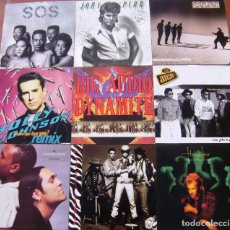 Discos de vinilo: LOTE 9 LP - THE JACKSONS, BIG AUDIO DYNAMITE, JOHN PARR, CHARLES & EDDIE, HOWARD JONES. Lote 152615434