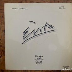 Discos de vinilo: ANDREW LLOYD WEBBER AND TIM RICE ?– EVITA SELLO: MCA RECORDS ?– 24.0018/9 FORMATO: 2 × VINYL, LP . Lote 152618686