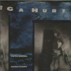 Discos de vinilo: MEGAHURTZ (FIFTH ANGEL,SANCTUARY,RIOT). Lote 152620214
