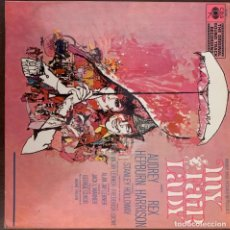 Discos de vinilo: AUDREY HEPBURN, REX HARRISON ?– MY FAIR LADY SOUNDTRACK SELLO: CBS ?– 70.000 FORMATO: VINYL, LP . Lote 152621050