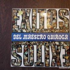 Discos de vinilo: DISCO VINILO LP EXITOS DEL MAESTRO QUIROGA, DLP 1152 AÑO 1973. Lote 152631298