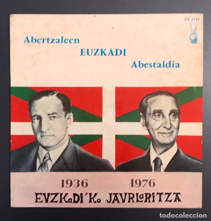 ABERTZALEEN EUZKADI ABESTALDIA - EDICIÓN FRANCESA (Música - Discos de Vinilo - EPs - Otros estilos)