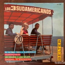 Discos de vinilo: LOS 3 SUDAMERICANOS ?– CATEDRAL DE WINCHESTER SELLO: BELTER ?– 51.752 FORMATO: VINYL, 7 . Lote 152646254