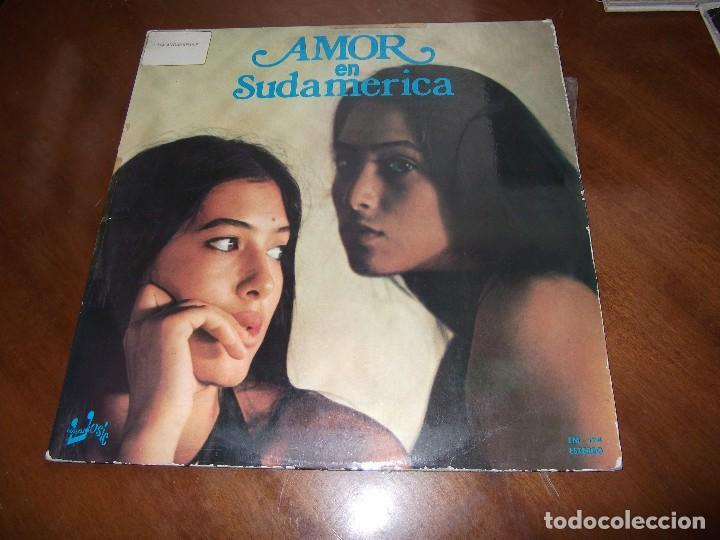 AMOR EN SUDAMERICA - LP 1976 - EUROMUSIC (Música - Discos - LP Vinilo - Grupos y Solistas de latinoamérica)