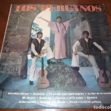Discos de vinilo: LOS PERUANOS (ECHAME A MI LA CULPA ) LP ESPAÑA 1976 . Lote 152648022