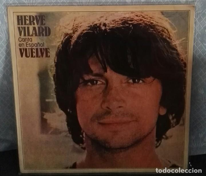 HERVE VILARD CANTA EN ESPAÑOL VUELVE CBS LP (Música - Discos - LP Vinilo - Otros estilos)