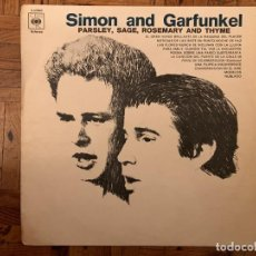 Discos de vinilo: SIMON AND GARFUNKEL* ?– PARSLEY, SAGE, ROSEMARY AND THYME SELLO: CBS ?– S 62860 FORMATO: VINYL, LP. Lote 152667490