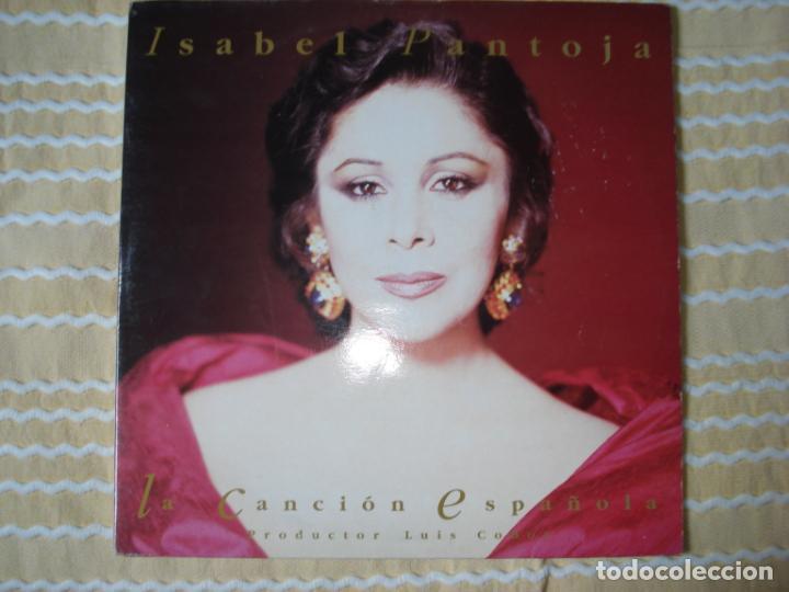 ISABEL PANTOJA CANCION ESPAÑOLA, DOBLE LP (Música - Discos - LP Vinilo - Flamenco, Canción española y Cuplé)