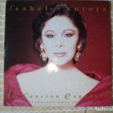 Discos de vinilo: ISABEL PANTOJA CANCION ESPAÑOLA, DOBLE LP. Lote 152669082