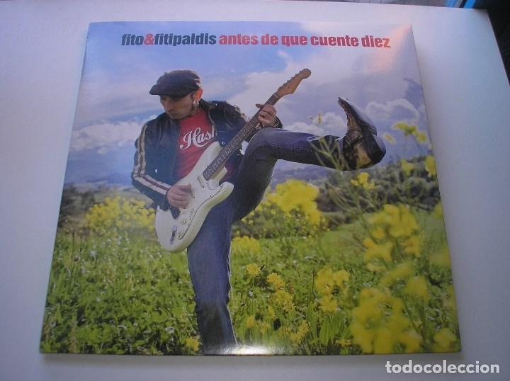FITO Y LOS FITIPALDIS - ANTES DE QUE CUENTE DIEZ - LP NUEVO (Música - Discos - LP Vinilo - Grupos Españoles de los 90 a la actualidad)
