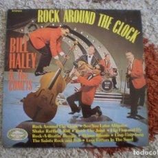 Discos de vinilo: LP. BILL HALEY. ROCK AROUND THE CLOCK. AÑO 1968. MUY BUENA CONSERVACION.. Lote 152720306