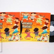 Discos de vinilo: 2 DISCOS EP VINILO - CANCIONES POPULARES INFANTILES. SELECCIÓN Nº 1 Y 2. R. FERRER -LA VOZ DE SU AMO. Lote 152724602