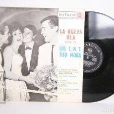 Discos de vinilo: DISCO LP DE VINILO - LA NUEVA OLA VOL. II / LOS TNT TITO MORA - RCA - AÑO 1963. Lote 152729448