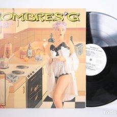 Discos de vinilo: DISCO LP DE VINILO - HOMBRES G / AGITAR ANTES DE USAR - TWINS - AÑO 1988 - PORTADA ABIERTA. Lote 152729534