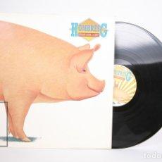 Discos de vinilo: DISCO LP DE VINILO - HOMBRES G / ESTAMOS LOCOS ¿O QUE? - TWINS - AÑO 1987 -PORTADA ABIERTA / ENCARTE. Lote 152729653