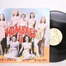 Discos de vinilo: DISCO LP DE VINILO - HOMBRES G / HISTORIA DEL BIKINI - TWINS - AÑO 1992 - PORTADA ABIERTA / ENCARTE. Lote 152729702