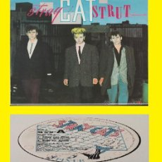 Discos de vinilo: STRAY CATS / STRAY CAT STRUT 1981 !! ULTRA RARO 12, ORG UK EDT, 4TEMAS. DIRECTO !! IMPECABLE !!. Lote 152740458