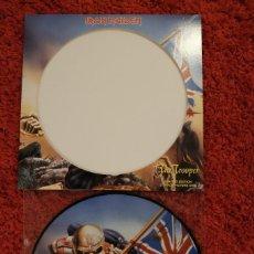 Disques de vinyle: IRON MAIDEN THE TROOPER PICTURE DISC 2005. Lote 152743598