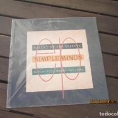 Discos de vinilo: SIMPLE MINDS ?– BALLAD OF THE STREETS MAXISINGLE. Lote 152779686