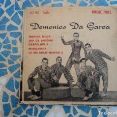 Discos de vinilo: DEMONIOS DA GAROA: SAMBA BATUQADA BRAZIL-OFERTA RARO DE URUGUAY. Lote 152780822