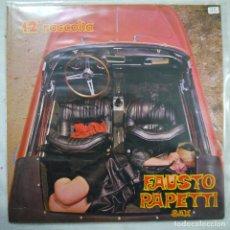 Disques de vinyle: FAUSTO PAPETTI SAX - 12ª RACCOLTA - LP 1971 . Lote 152790886