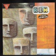 Discos de vinilo: REM - THE BEST OF REM - LP. Lote 152791562