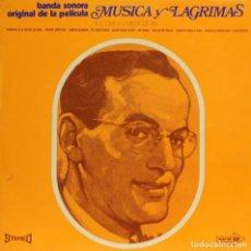 Discos de vinilo: GLENN MILLER / MÚSICA Y LÁGRIMAS (BSO) CORAL / MOVIEPLAY (LP) 1970. Lote 152802010
