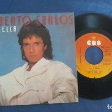 Discos de vinilo: ROBERTO CARLOS/ YO Y ELLA - LAS MISMAS COSAS. Lote 152810774
