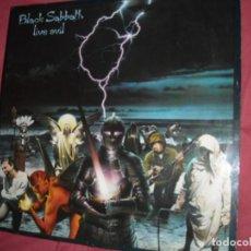 Discos de vinilo: BLACK SABBATH  LIVE EVIL - DOUBLE 2X LP 1983 USA. Lote 152820802