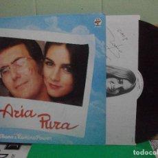 Discos de vinilo: ALBANO & ROMINA POWER ARIA PURA LP 1982 ITALIA PEPETO. Lote 152826470