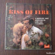 Discos de vinilo: DISCO VINILO LP KISS OF FIRE, 14 TANGOS INTERPRETADOS POR ALFRED HAUSE Y SU ORQUESTA. POLYDOR 1966. Lote 152832746