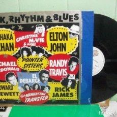 Discos de vinilo: VARIOS - ROCK, RHYTHM & BLUES RICHARD PERRY - ROCK,.... LP GERMANY 1989 PDELUXE. Lote 152833346