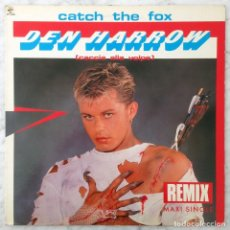Discos de vinilo: MAXI-SINGLE - DEN HARROW - CATCH THE FOX (REMIX + ORIGINAL) - BABY RECORDS - 1986 (ITALO-DISCO) . Lote 152843422