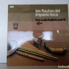 Discos de vinilo: LAS FLAUTAS DEL IMPERIO INCA . Lote 152861718