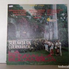 Discos de vinilo: SERENATA EN CUERNAVACA . Lote 152861842