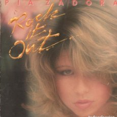 Discos de vinilo: PIA ZADORA.... ROCK IT OUT - MAXISINGLE WEA DE 1984 ,RF-7436. Lote 152864646