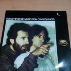 Discos de vinilo: GODLEY ADN CREME - MUSIC FROM CONSEQUENCES- BUEN ESTADO -VER FOTOS -LEER. Lote 152873858