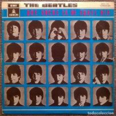 Discos de vinilo: THE BEATLES. QUE NOCHE LA DE AQUEL DIA. EMI-ODEON, SPAIN 1964 LP MONO (MOCL 122 1J 060-04.145 M). Lote 152875678