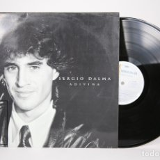Discos de vinilo: DISCO LP DE VINILO - SERGIO DALMA / ADIVINA - HORUS - AÑO 1992 - CON ENCARTE. Lote 152879278