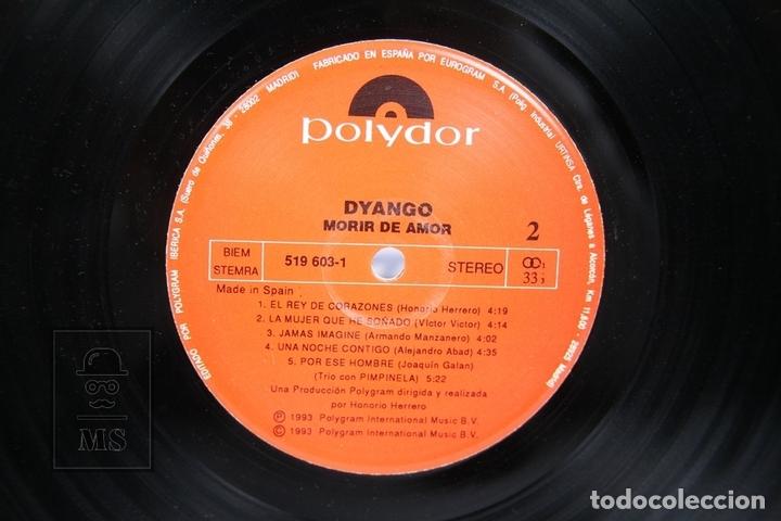 Discos de vinilo: Disco LP De Vinilo - Dyango / Morir de Amor - Polydor - Año 1993 - Con Encarte - Foto 2 - 152879329