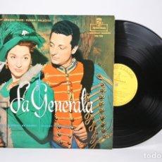 Discos de vinilo: DISCO LP DE VINILO - LA GENERALA / AMADEO VIVES, PERRIN PALACIOS - MONTILLA - AÑO 1960. Lote 152879825