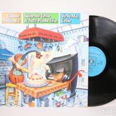 Discos de vinilo: DISCO LP DE VINILO - CLUDE BOLLING'S / SUIET FOR CELLO & JAZZ PIANO TRIO / YO-YO MA - CBS 1984. Lote 152879893
