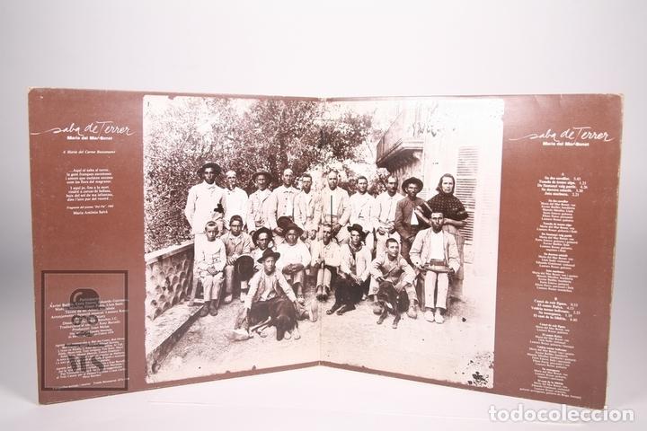 Discos de vinilo: Disco LP De Vinilo - Maria del Mar Bonet / Saba de Terrer - Ariola 1979 - Portada Abierta - Encarte - Foto 3 - 152880070