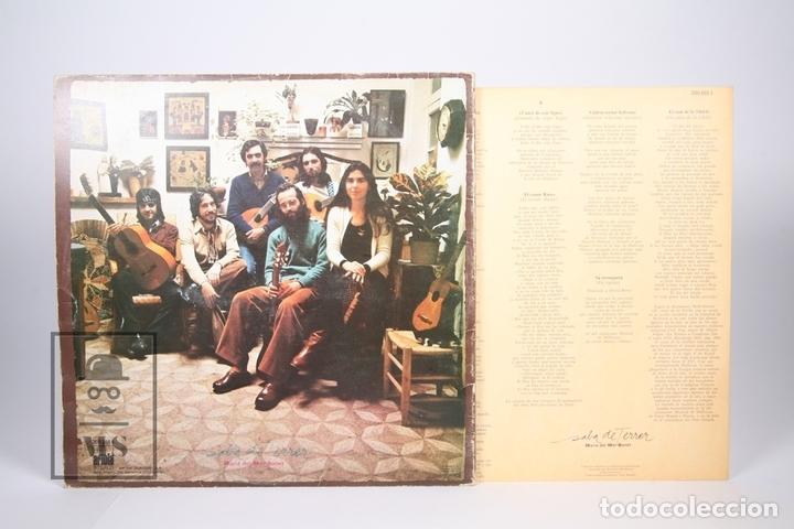 Discos de vinilo: Disco LP De Vinilo - Maria del Mar Bonet / Saba de Terrer - Ariola 1979 - Portada Abierta - Encarte - Foto 4 - 152880070