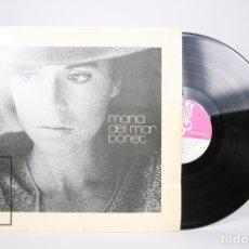 Discos de vinilo: DISCO LP DE VINILO - MARIA DEL MAR BONET / EM DIUS QUE EL NOSTRE AMOR - BOCCACIO 1975 - ENCARTE. Lote 152880120