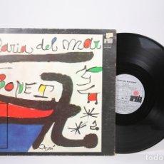 Discos de vinilo: DISCO LP DE VINILO - MARIA DEL MAR BONET / JOAN MIRÓ - ARIOLA 1974 - PORTADA ABIERTA - ENCARTE. Lote 152880190