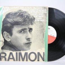 Discos de vinilo: DISCO LP DE VINILO - RAIMON / DISC ANTOLÒGIC DE LES SEVES CANÇONS - EDIGSA - AÑO 1964. Lote 152880256